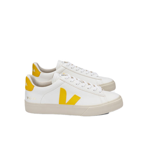 Footwear Veja Campo: White/Tonic Yellow - The Union Project, Cheltenham, free delivery