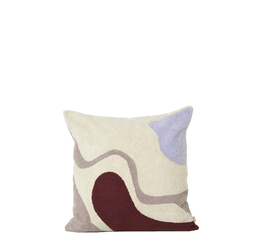 Ferm Living Vista Cushion: Off White - The Union Project