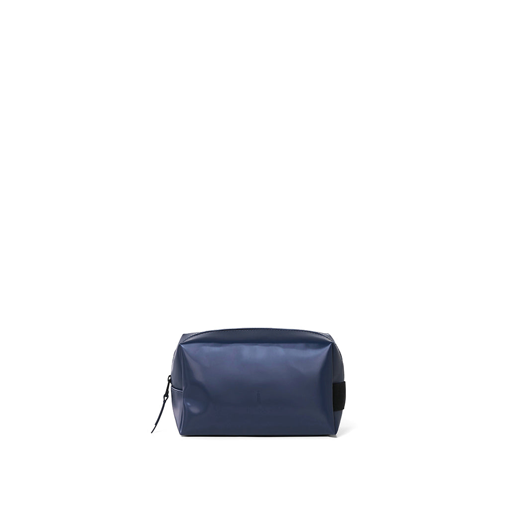 Rains Wash Bag Small: Shiny Blue - The Union Project