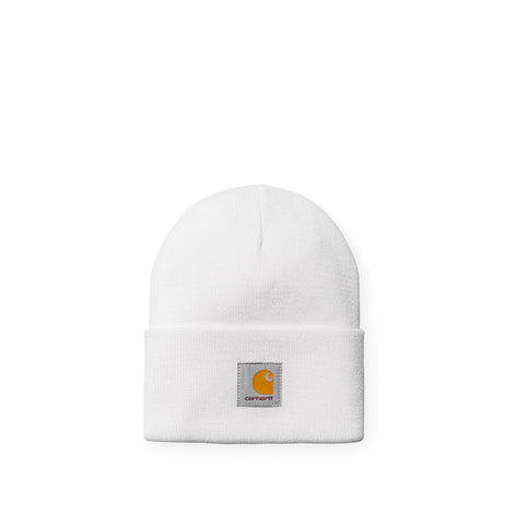 Headwear Carhartt WIP Acrylic Watch Hat: White - The Union Project, Cheltenham, free delivery