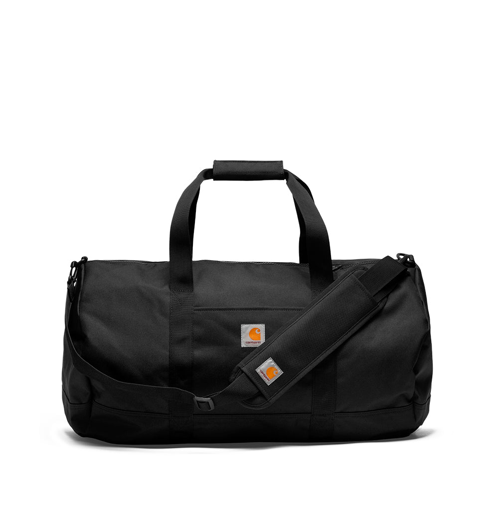 Carhartt WIP Wright Duffle Bag: Black - The Union Project