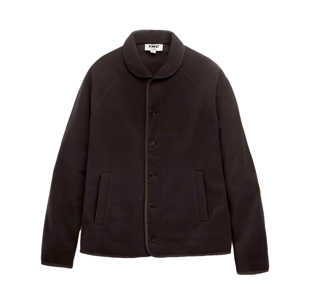 YMC Beach Jacket: Black Fleece - The Union Project
