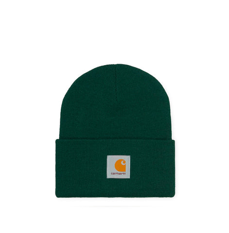 Headwear Carhartt WIP Acrylic Watch Hat: Bottle Green - The Union Project, Cheltenham, free delivery