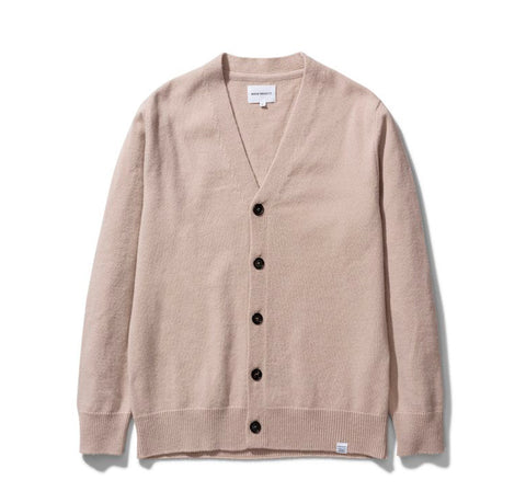 Norse Projects Adam Lambswool: Utility Khaki