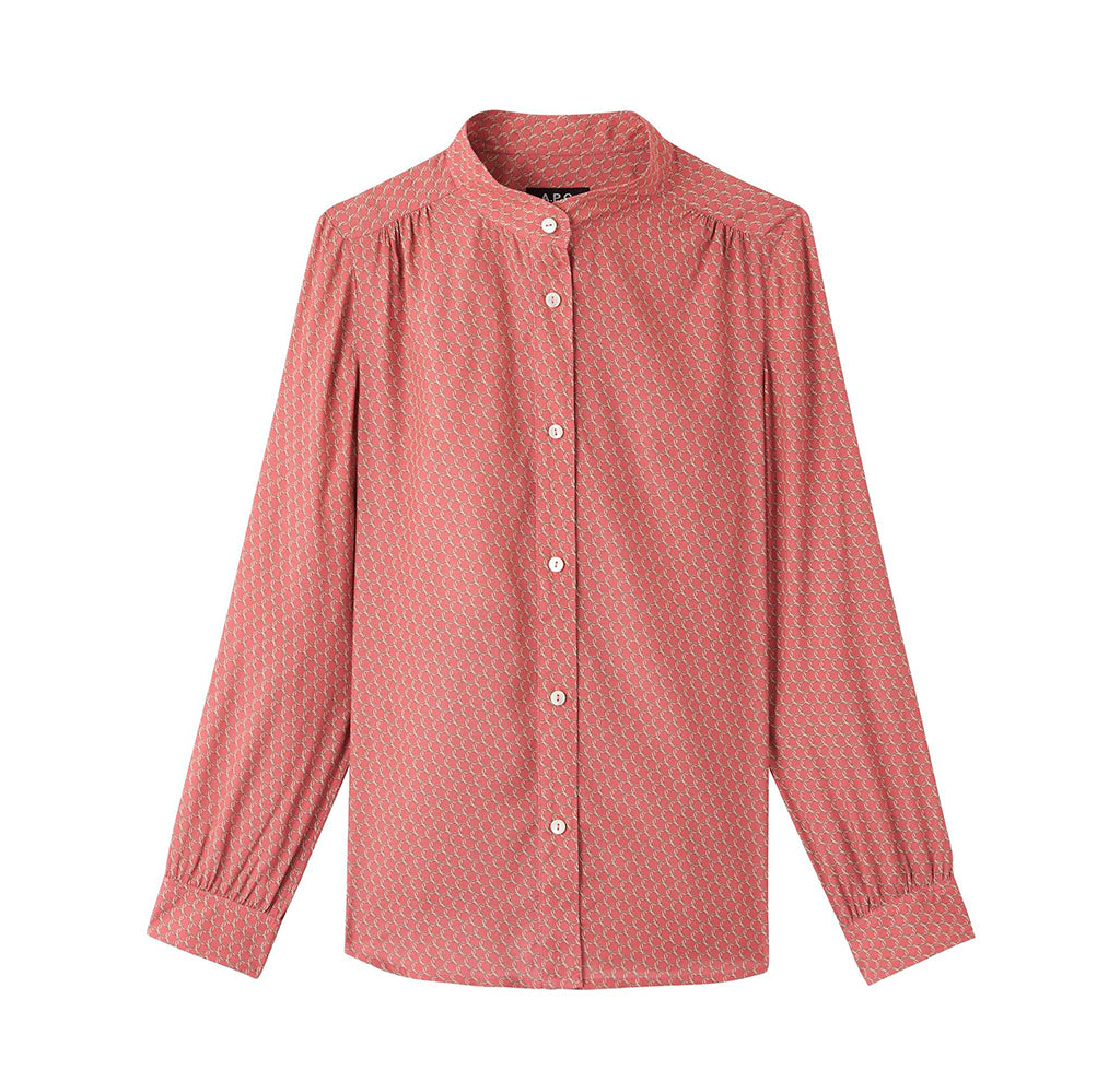 APC Womens Alice Blouse: Rose - The Union Project