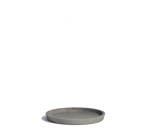 Plant Pots + Vases Ecopots Saucer for Amsterdam Pot Medium (30cm): Grey - The Union Project, Cheltenham, free delivery