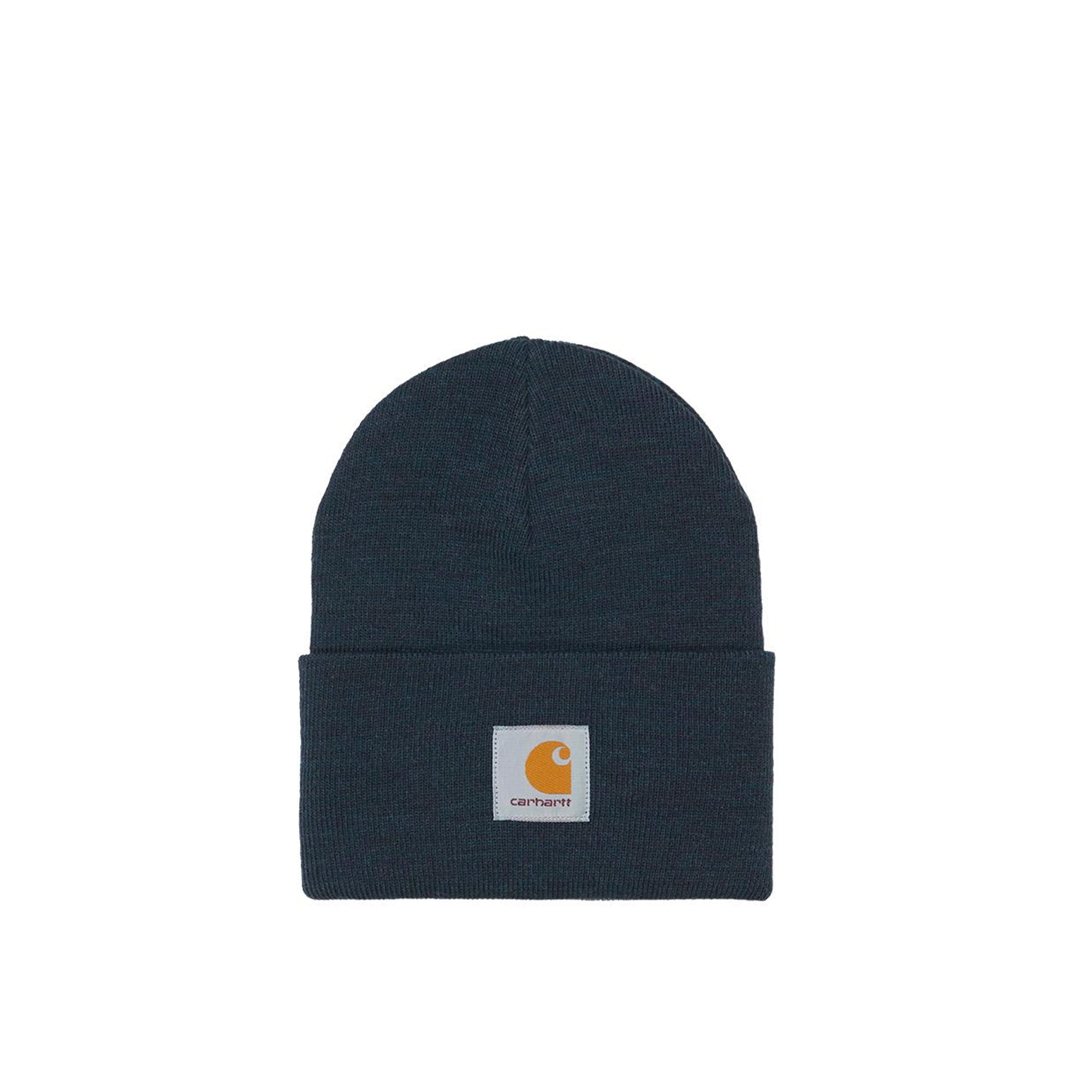 Carhartt WIP Acrylic Watch Hat: Dark Navy Heather - The Union Project