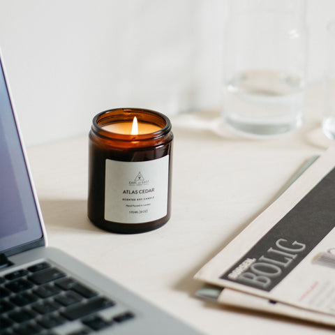 Home Fragrance + Candle Holders Earl of East London Soy Wax Candle 170ml: Atlas Cedar - The Union Project