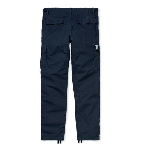 Legwear Carhartt WIP Aviation Pant: Dark Navy Rinsed - The Union Project, Cheltenham, free delivery