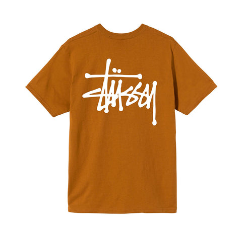 T-Shirts Stussy Basic Stussy Tee: Caramel - The Union Project, Cheltenham, free delivery