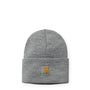 Carhartt WIP Acrylic Watch Hat: Grey Heather