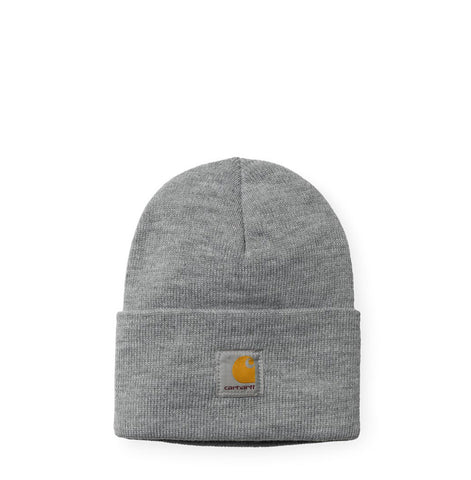 Headwear Carhartt WIP Acrylic Watch Hat: Grey Heather - The Union Project, Cheltenham, free delivery
