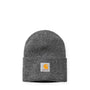 Carhartt WIP Acrylic Watch Hat: Dark Grey Heather