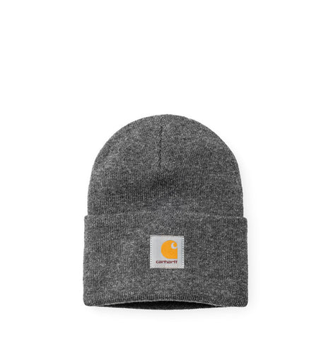 Headwear Carhartt WIP Acrylic Watch Hat: Dark Grey Heather - The Union Project