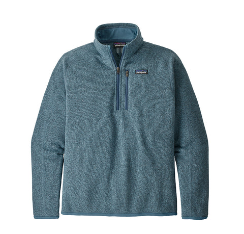 Hoods & Sweats Patagonia Better Sweater 1/4 Zip: Pigeon Blue - The Union Project, Cheltenham, free delivery