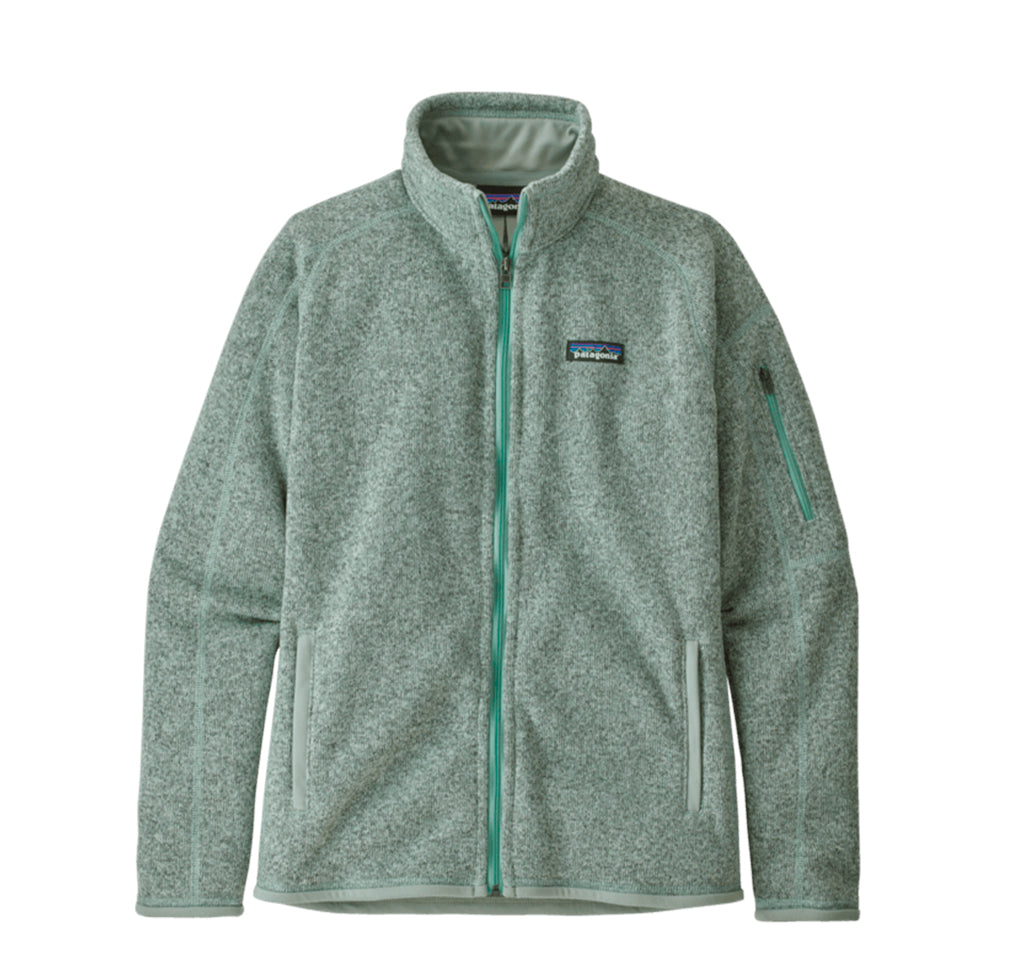 Patagonia Womens Better Sweater Jacket: Gypsum Green - The Union Project