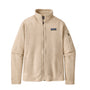 Patagonia Womens Better Sweater Jacket: Oyster White
