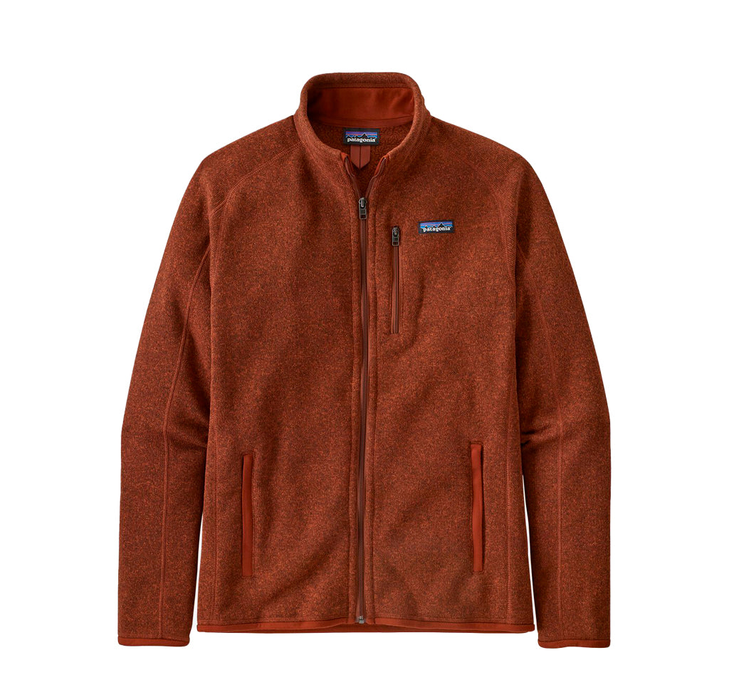 Patagonia Better Sweater Jacket: Barn Red - The Union Project