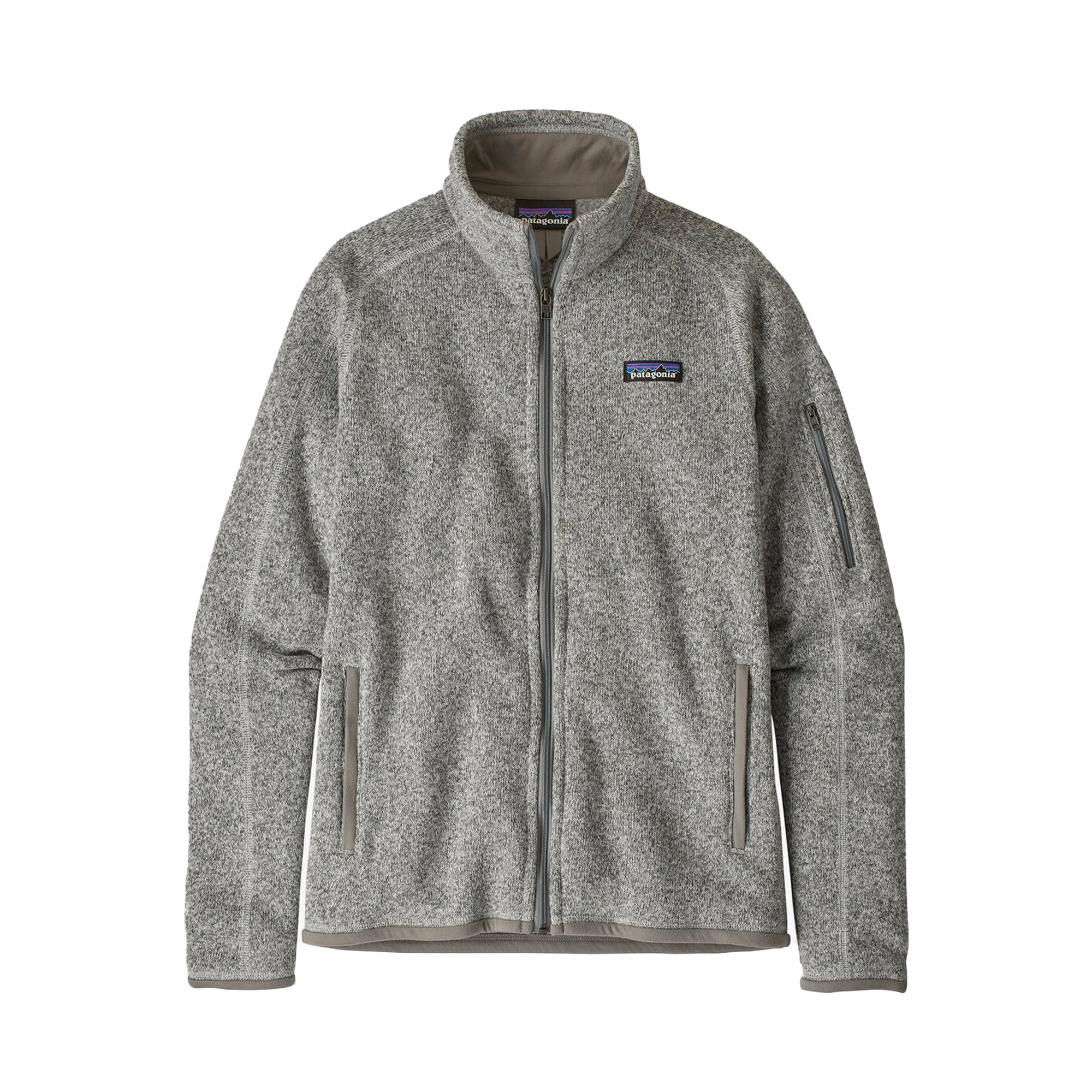 Patagonia Womens Better Sweater Jacket: Birch White - The Union Project