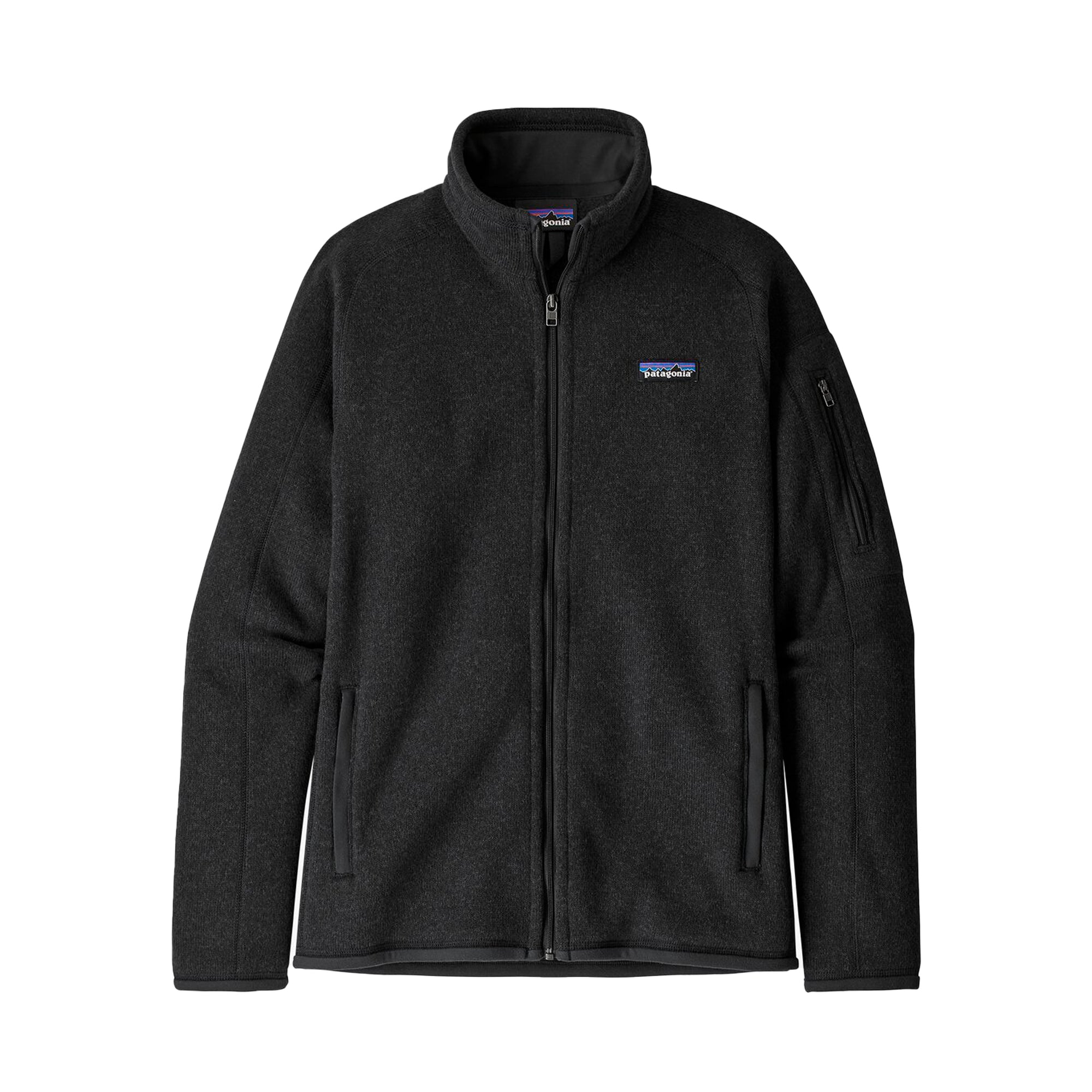 Patagonia Womens Better Sweater Jacket: Black - The Union Project