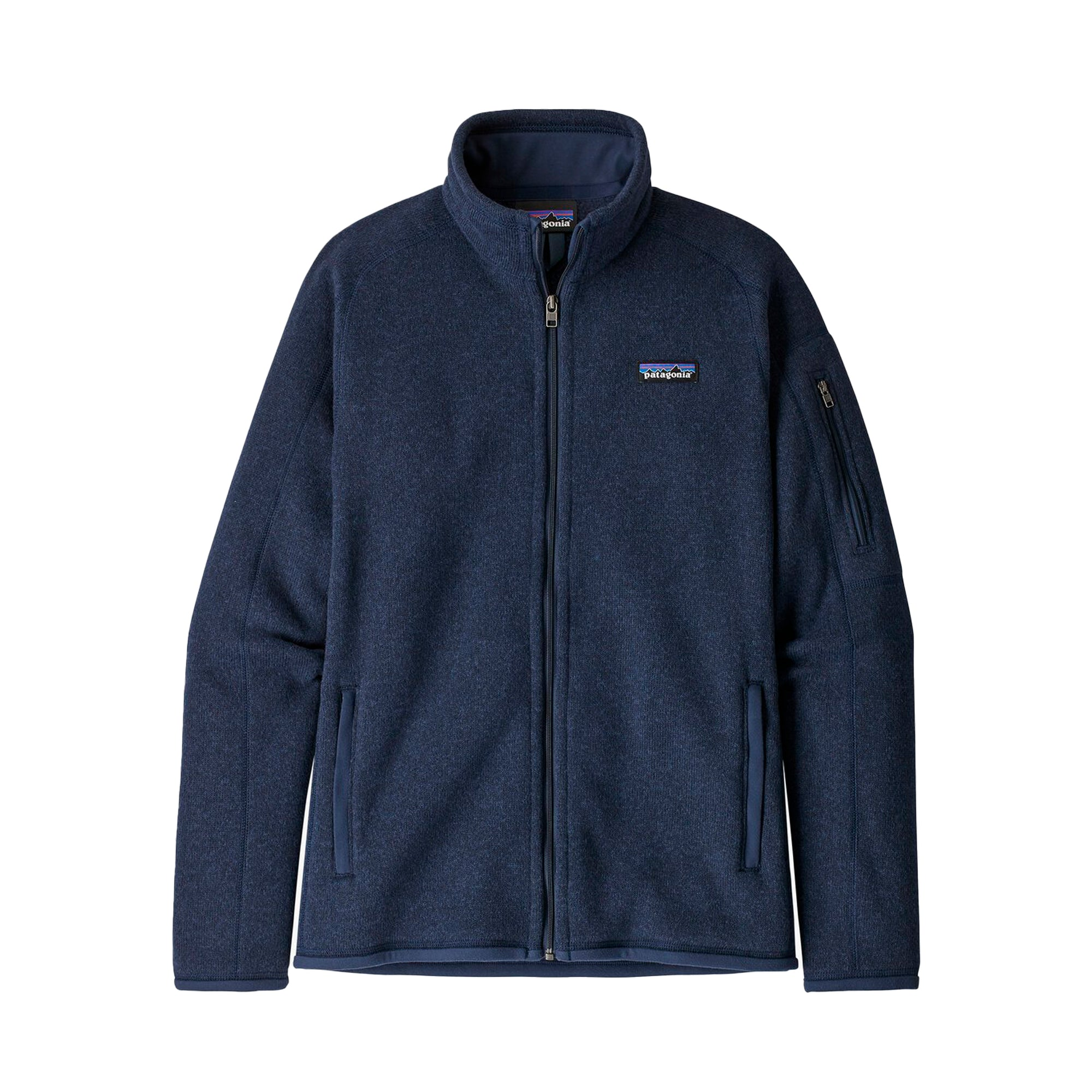 Patagonia Womens Better Sweater Jacket: New Navy - The Union Project