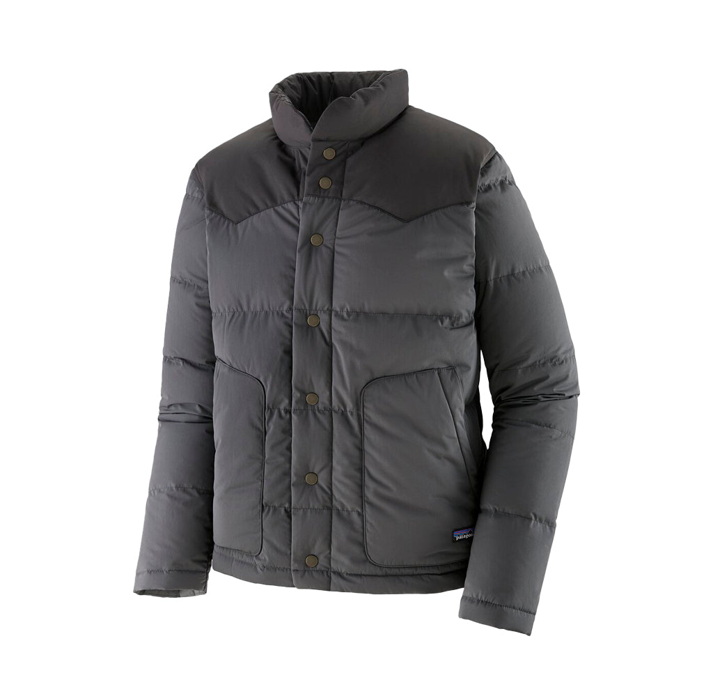 Patagonia Bivy Down Jacket: Forge Grey - The Union Project