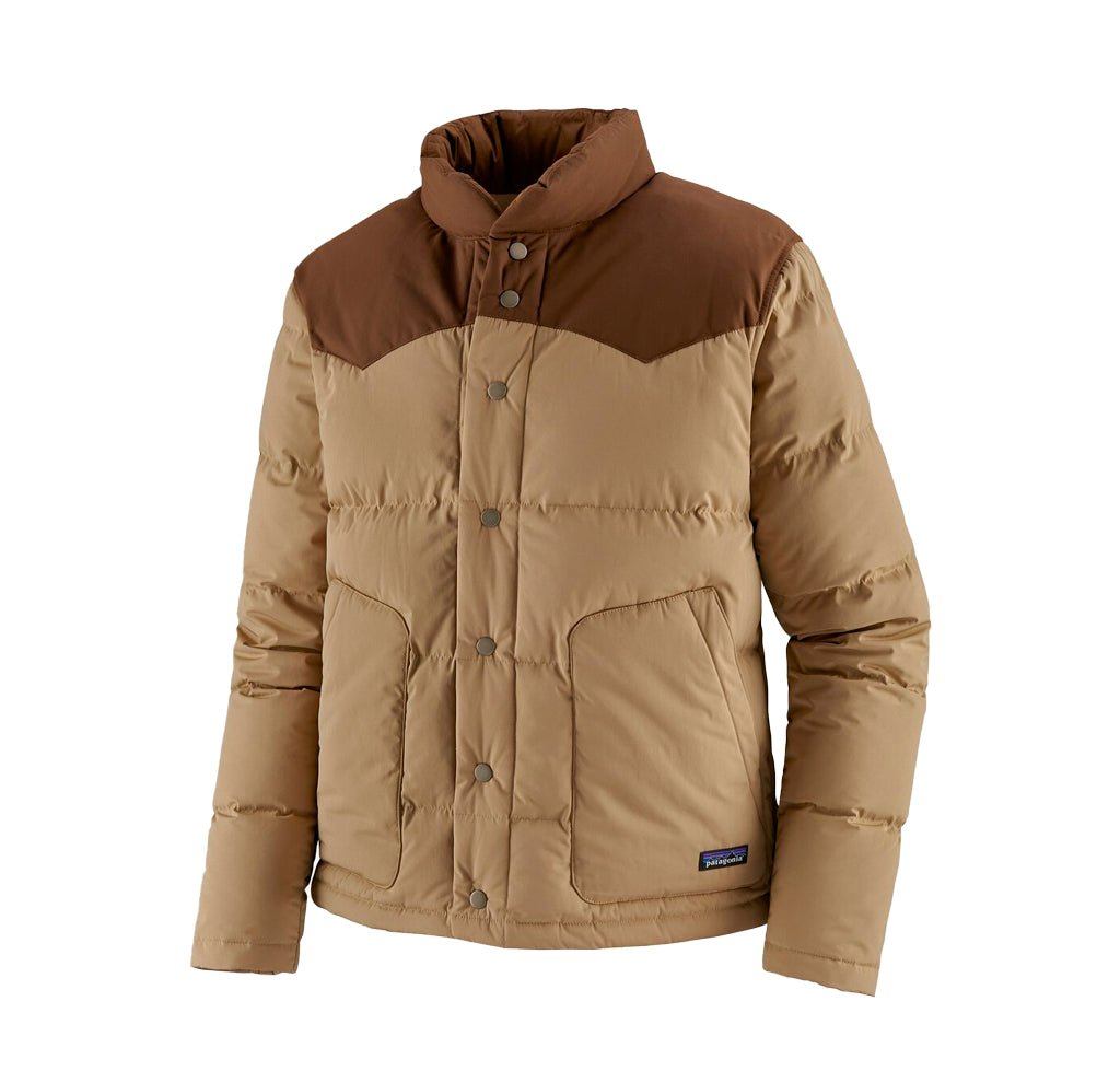 Patagonia Bivy Down Jacket: Classic Tan - The Union Project