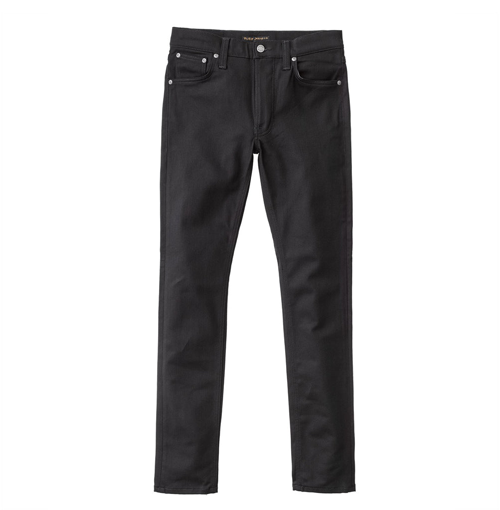Nudie Jeans Lean Dean: Dry Ever Black - The Union Project