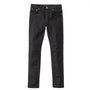 Nudie Jeans Lean Dean: Dry Ever Black