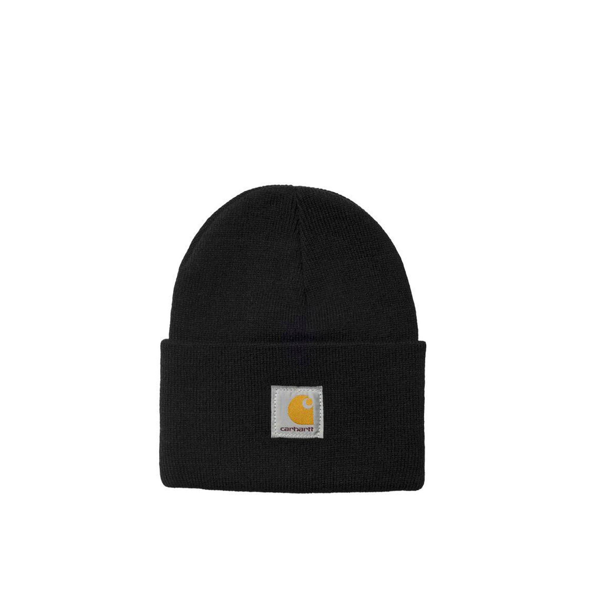 Carhartt WIP Acrylic Watch Hat: Black - The Union Project