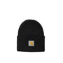 Carhartt WIP Acrylic Watch Hat: Black