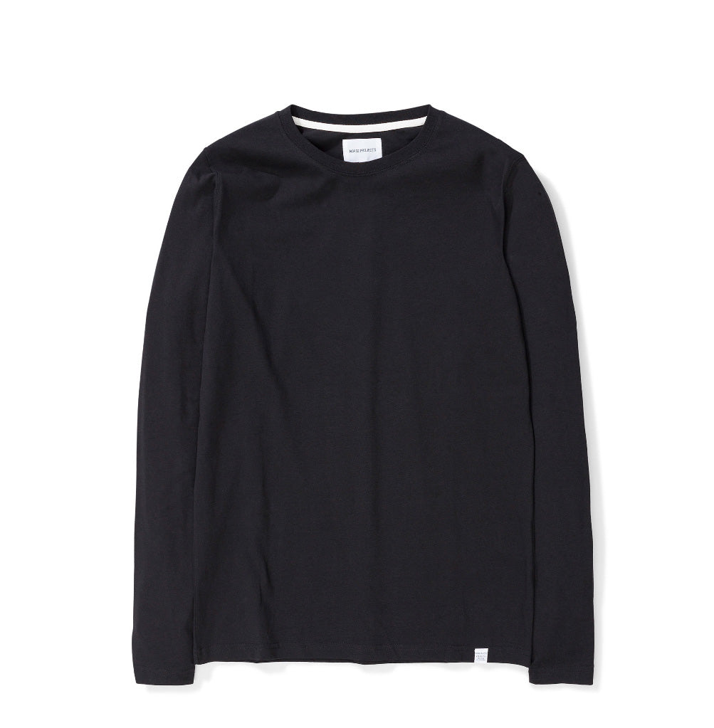 Norse Projects Niels Standard Longsleeve: Black - The Union Project