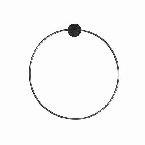 Bathroom Accessories Ferm Living Towel Hanger: Black - The Union Project, Cheltenham, free delivery