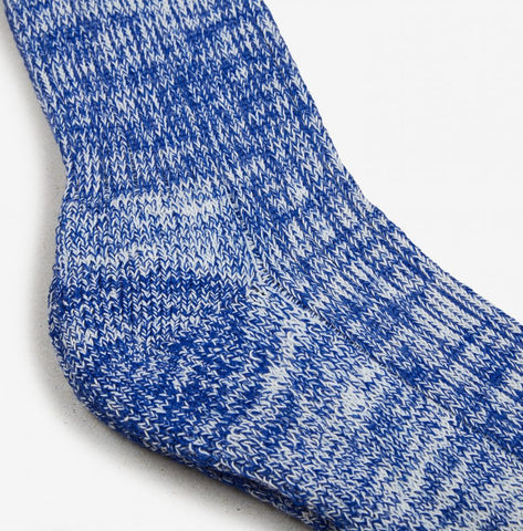 Socks Heavy Cotton Sock: Royal Blue - The Union Project