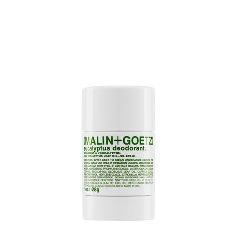 Skincare + Fragrance Malin + Goetz Eucalyptus 1oz Mini Deodorant - The Union Project, Cheltenham, free delivery