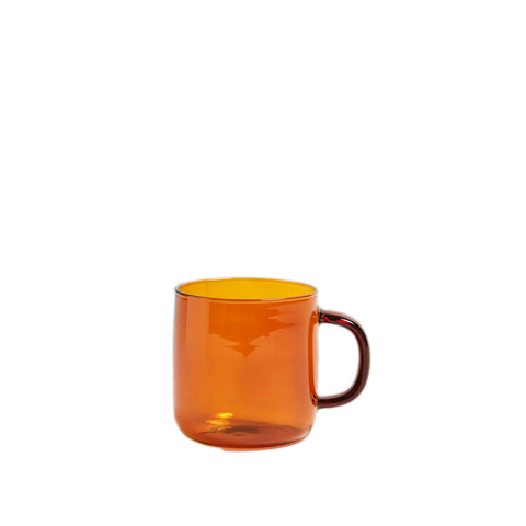 Mugs + Tumblers HAY Borosilicate Mug 300ML: Amber - The Union Project, Cheltenham, free delivery