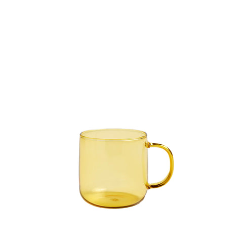 HAY Borosilicate Mug 300ML: Yellow