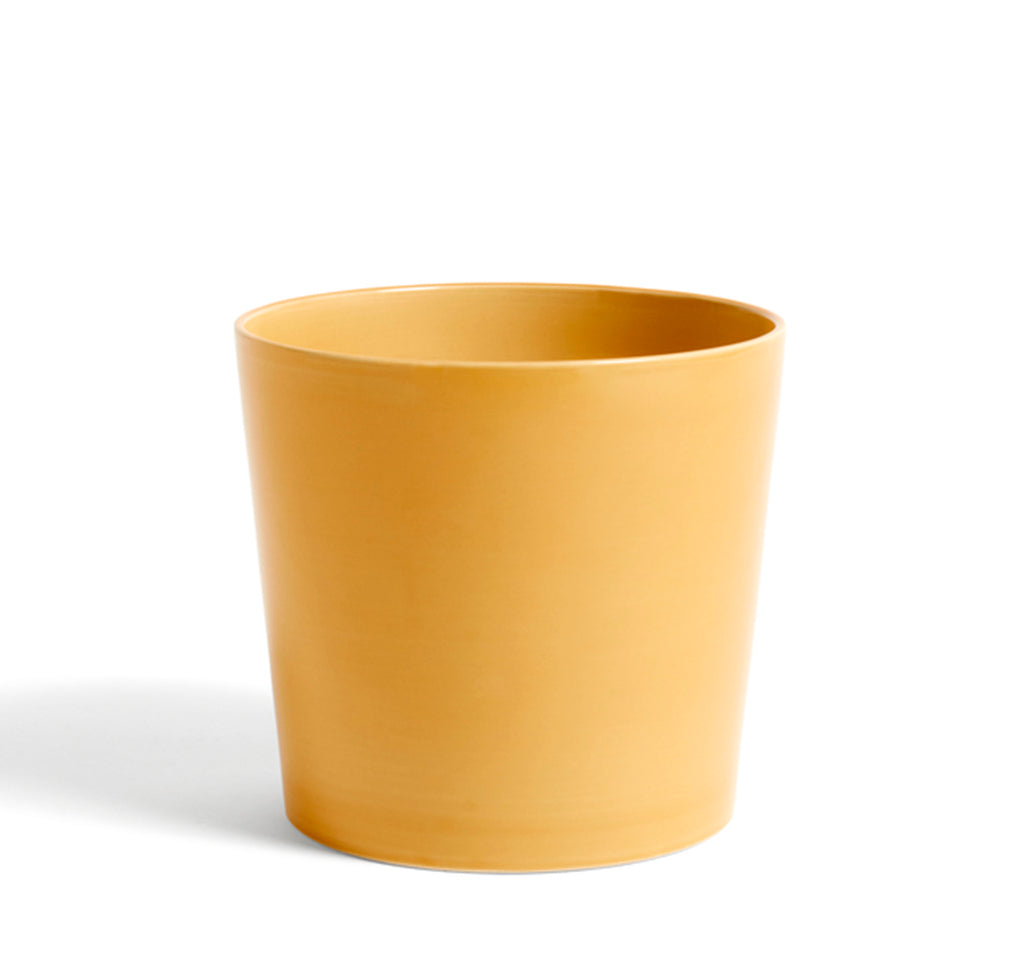 HAY Botanical Family Pot XL: Warm Yellow - The Union Project