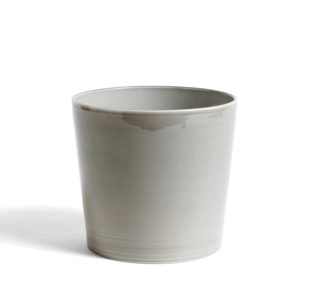 HAY Botanical Family Pot XL: Light Grey - The Union Project