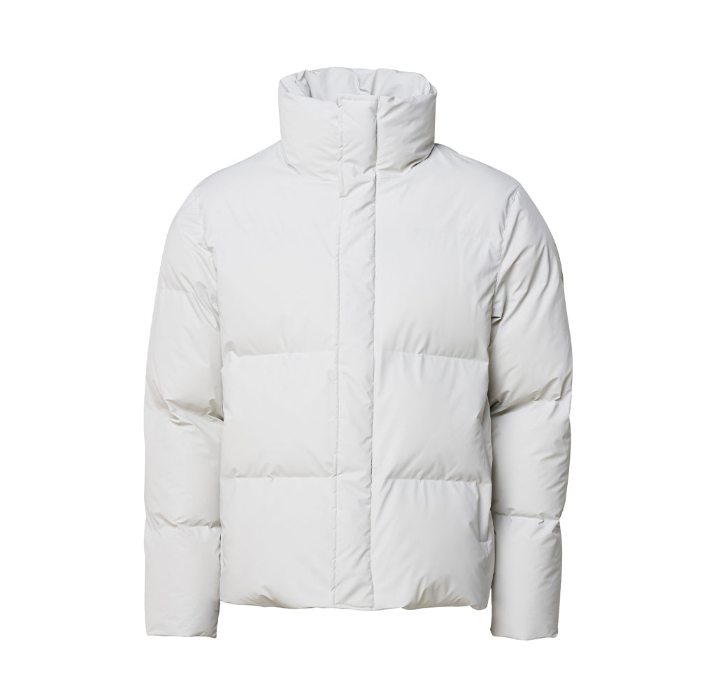 Outerwear Rains Boxy Puffer Jacket: Off White - The Union Project, Cheltenham, free delivery