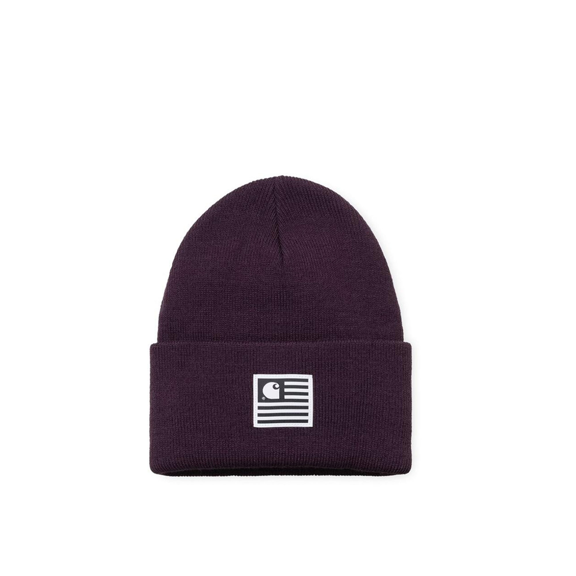 Carhartt WIP State Beanie: Boysenberry - The Union Project
