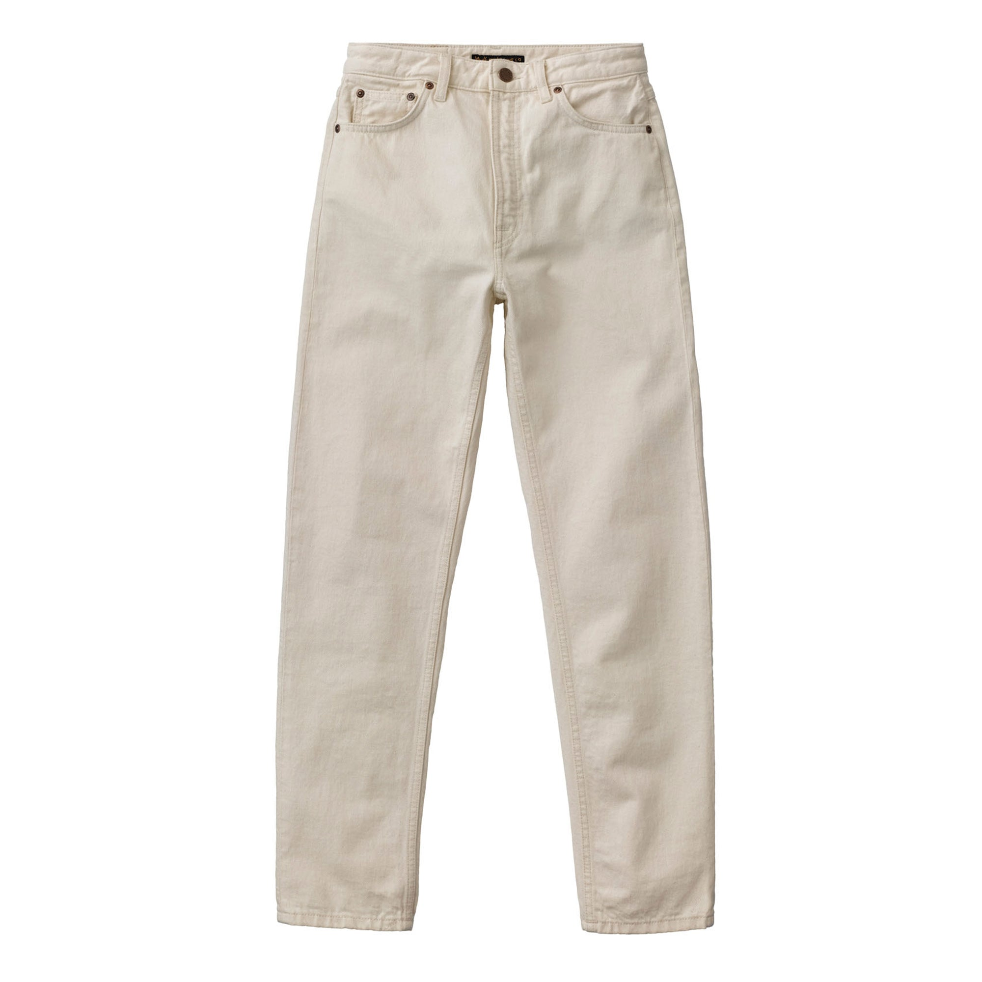 Nudie Jeans Womens Breezy Brit: Dusty White - The Union Project