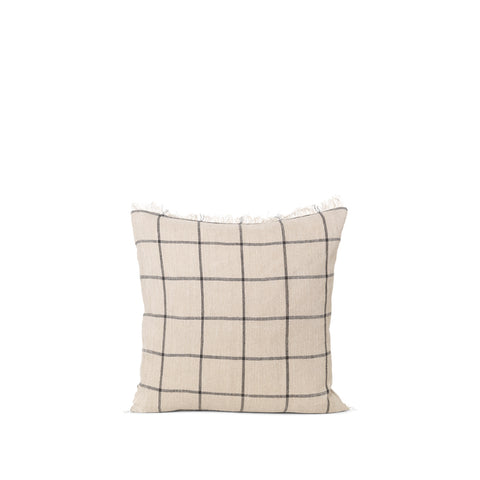 Ferm Living Calm Cushion 50x50: Camel / Black
