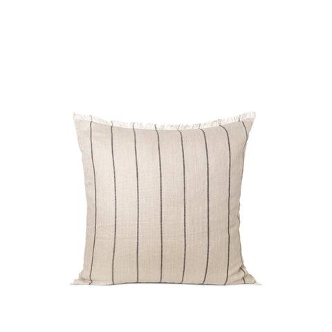 Ferm Living Calm Cushion 80x80: Camel / Black