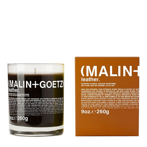 Malin + Goetz Leather Candle: 260g