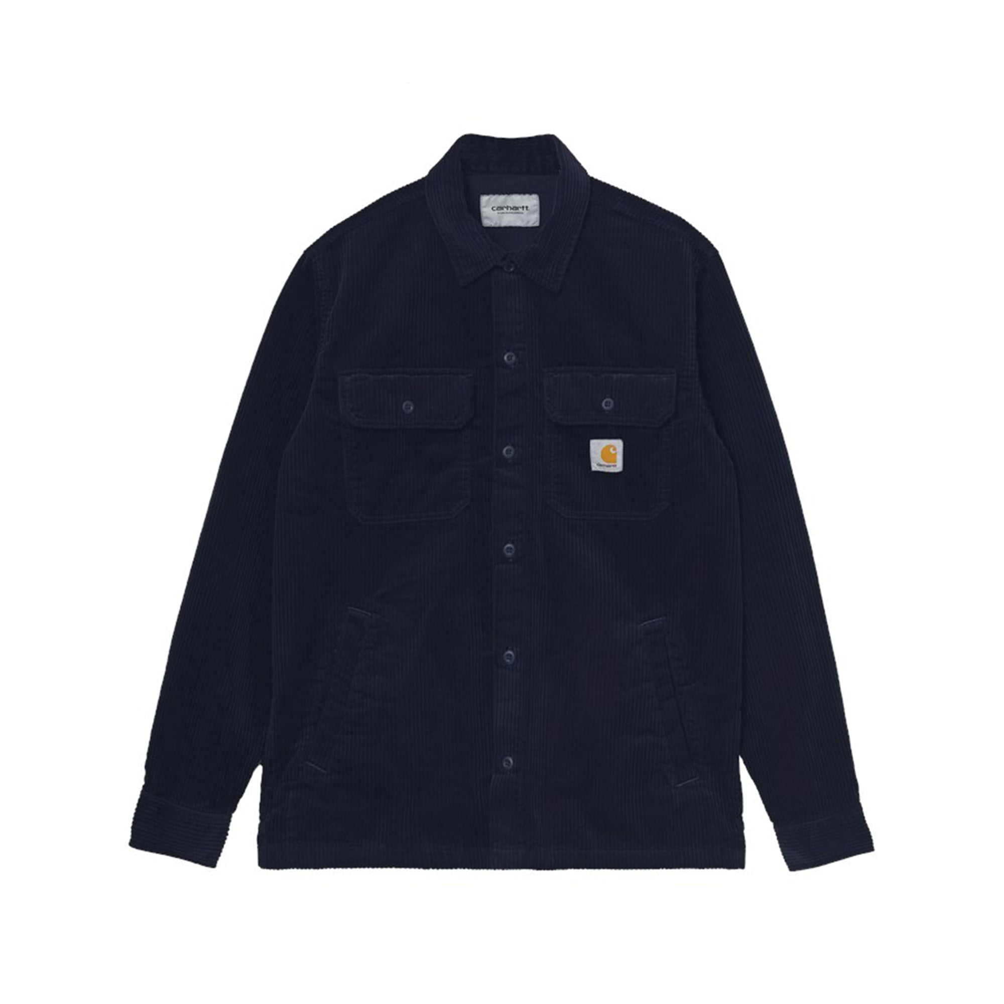 Carhartt WIP Dixon Shirt Jac: Dark Navy Rinsed - The Union Project