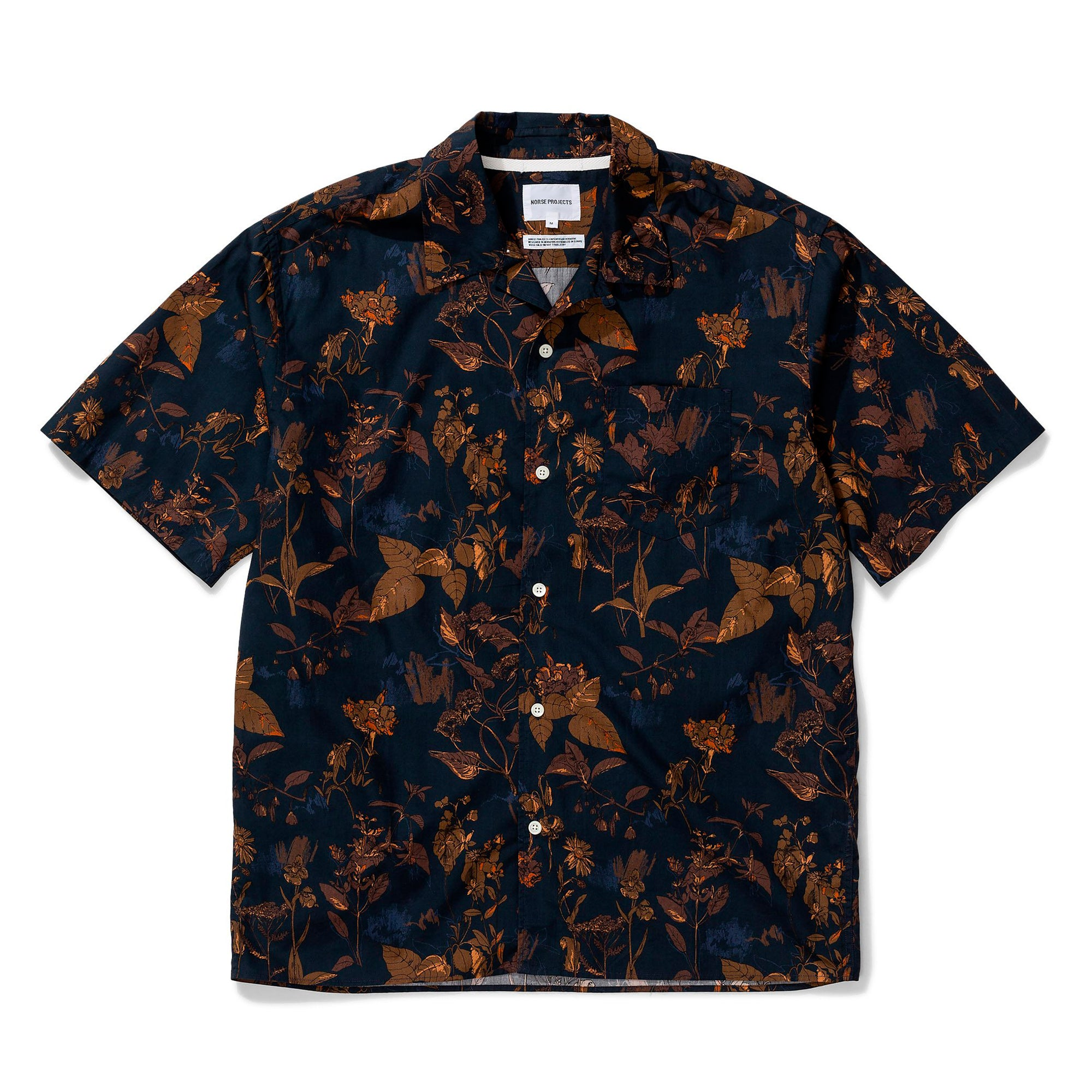 Norse Projects Carsten Print: Dark Navy - The Union Project