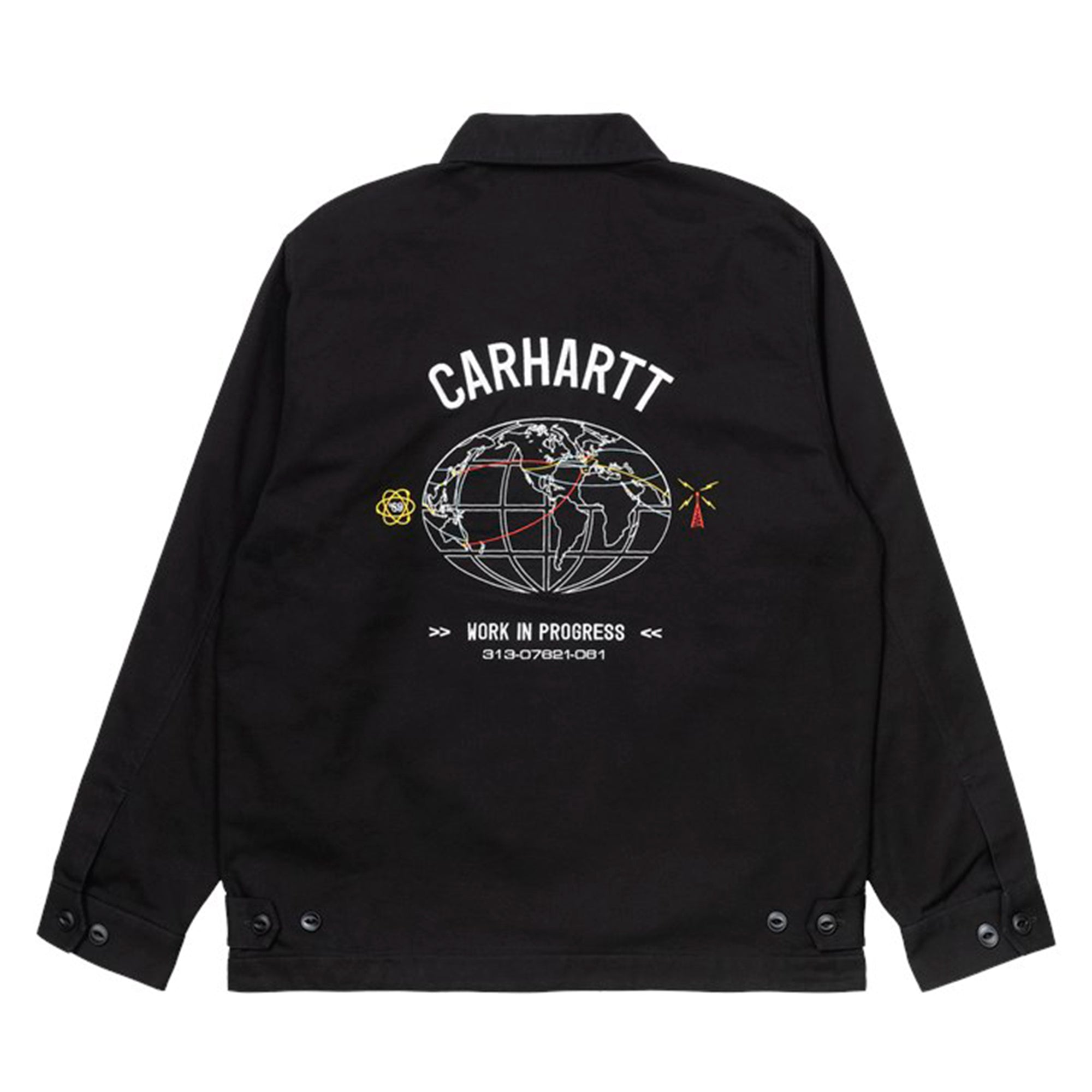 Carhartt WIP Cartograph Jacket: Black - The Union Project
