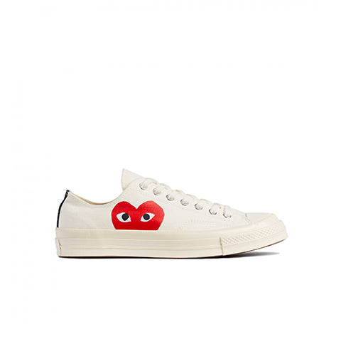 Comme des Garçons Play x Converse Chuck Taylor: Beige - The Union Project