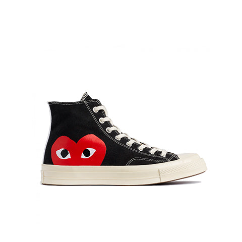 Comme des Garçons Play x Converse Chuck Taylor Hi: Black - The Union Project